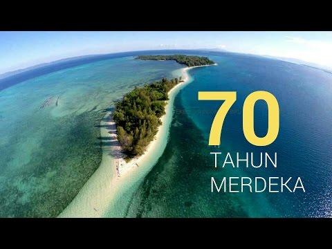 70 TAHUN MERDEKA (Drone Keliling Setengah Indonesia)