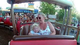 The Barnstormer (Goofys) rollercoaster @ Disneys Magic Kingdom