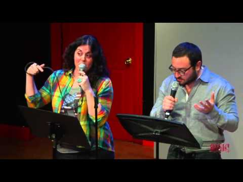 Eliot Glazer and Jackie Mancini perform at the RISK! Live Show in NYC - February 28, 2013