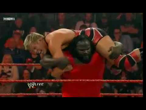MVP Vs Jack Swagger Vs Carlito Vs Mark henry 4/1/2010 Video