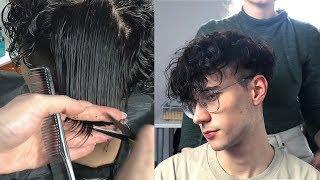 Korean Perm + Haircut (Part II)   Skin Faded Two Block Cut   Men's Hair   Ruben Ramos