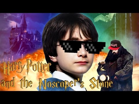 Harry Potter And The Noscoper's Stone video