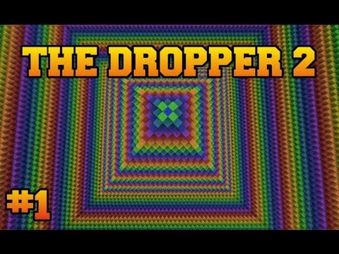 Minecraft: The Dropper 2 - Part 1 - Newton Vs. Darwin
