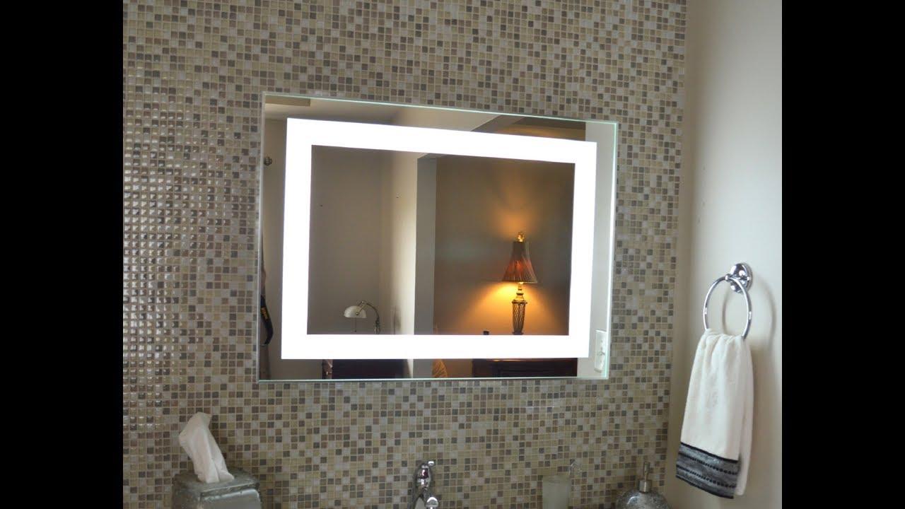 Wall mirror for bathroom