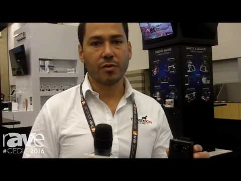 CEDIA 2016: ToughDog Security Shows Body Worn Camera