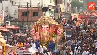 Ganesh Nimajjanam 2018 Hyderabad | Ganpati Bappa Morya | Ganesh Shobha Yatra
