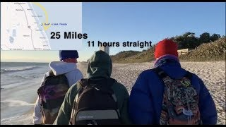 Teenagers Walk 25 Miles Straight (on beach) l 321 Lifestyle
