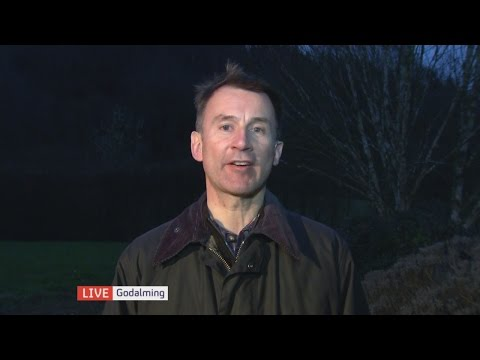 Election 2015: Jeremy Hunt says we can trust seven-day NHS promise