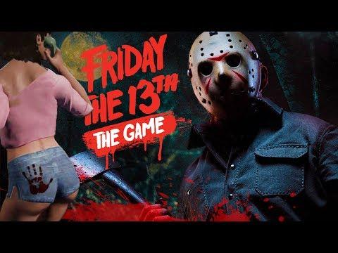Friday the 13th: The Game - Джейсон развлекается с девочками