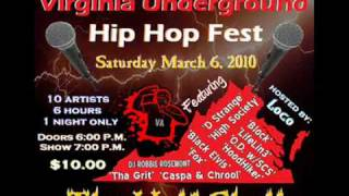 Loco Pimp Presents: The 1st Annual Virginia Underground Hip Hop Fest