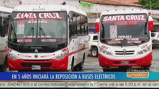 En Medellín 468 buses se cambiaron a combustible Euro [Noticias] - Telemedellín
