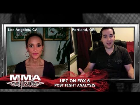 UFC on FOX 6: MMA H.E.A.T. Post-Fight Analysis with Karyn Bryant + Steven Marrocco