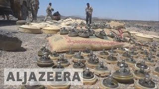 Houthi landmines kill hundreds in Yemen