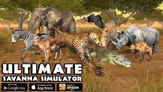 """Ultimate Savanna African Animal Simulator"" By Gluten Free Games- Nominated Best Mobile Game Of 2016"