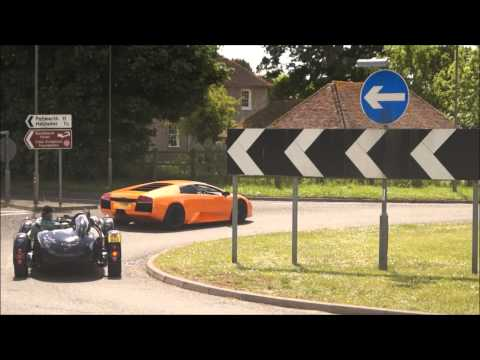 Goodwood Supercar Sunday 2013 - Best Road Action