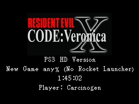 Resident Evil: Code: Veronica X HD (PS3) Speedrun - Any% in 1:45:02