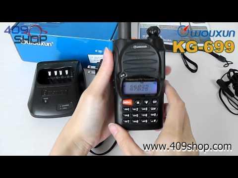 Wouxun KG-699E HF 66-88mhZ Two-way Radio