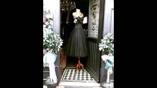 Vintage 50's style cocktail dress