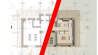 Rendered 2D Floor Plans in Revit Tutorial