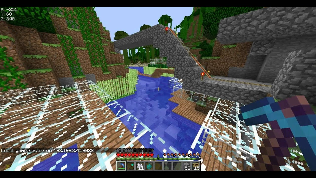 how to join lan server minecraft mac