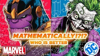 Who is Mathematically Better, Marvel or DC?