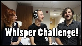 "The Whisper Challenge w/ ""SkyDoesMinecraft"" & ""SomeSeriousNonsense"""