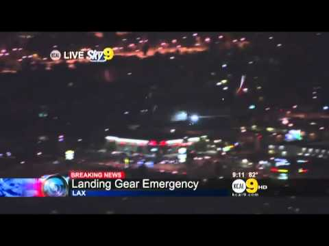 Philippine Airlines Emergency Landing Los Angeles