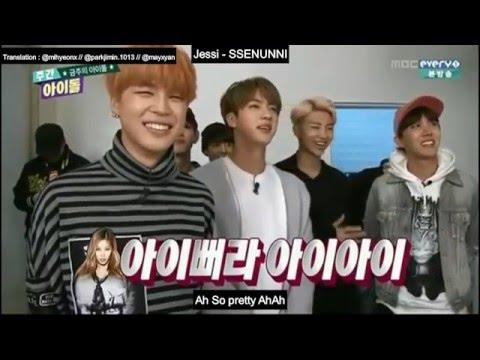 ENGSUB (151216) BTS weekly idol FULL