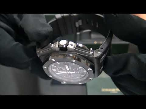 Audemars Piguet Royal Oak Offshore Carbon 2016 | WatchesGMT