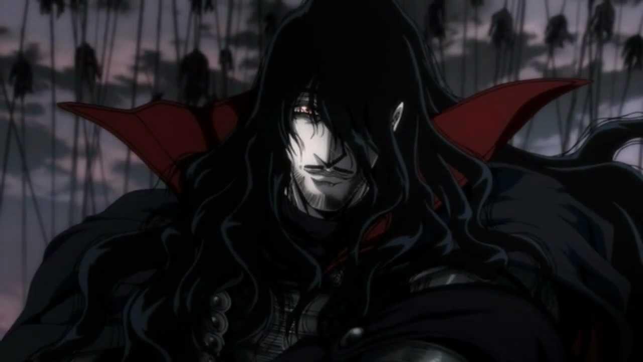 Welcome back, Count - Hellsing Ultimate 8 OVA - YouTube Count Alucard Hellsing Ova