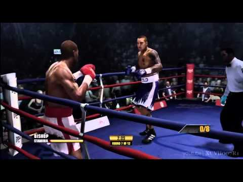 Fight Night Champion - Champion Mode Walkthrough (Part 17) FINAL - Isaac Frost Fight (part 02)