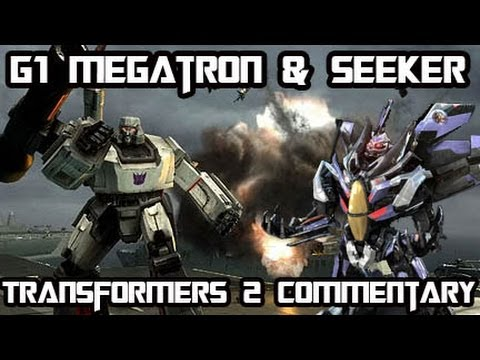 Transformers Revenge Of The Fallen - Seeker & G1 Megatron Multiplayer Gameplay Commentary w/ Turtle