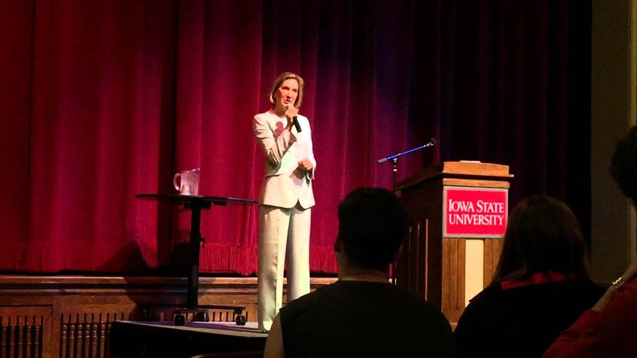 Carly Fiorina at ISU:  Opening Remarks
