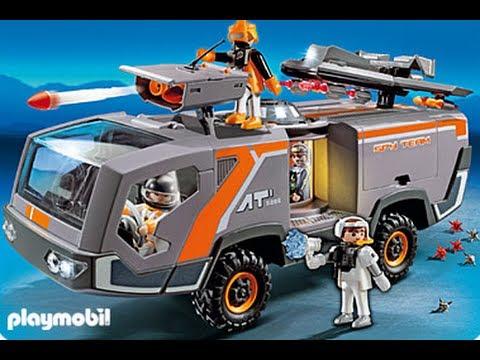 playmobil 5286 camion des agents secrets youtube. Black Bedroom Furniture Sets. Home Design Ideas