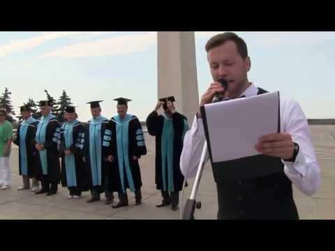Церемония выпуска молодых специалистов УлГУ.1