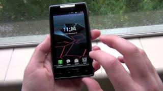 Motorola DROID RAZR Software Tour