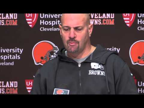 Mike Pettine on the Browns showdown with the Bengals Thursday night
