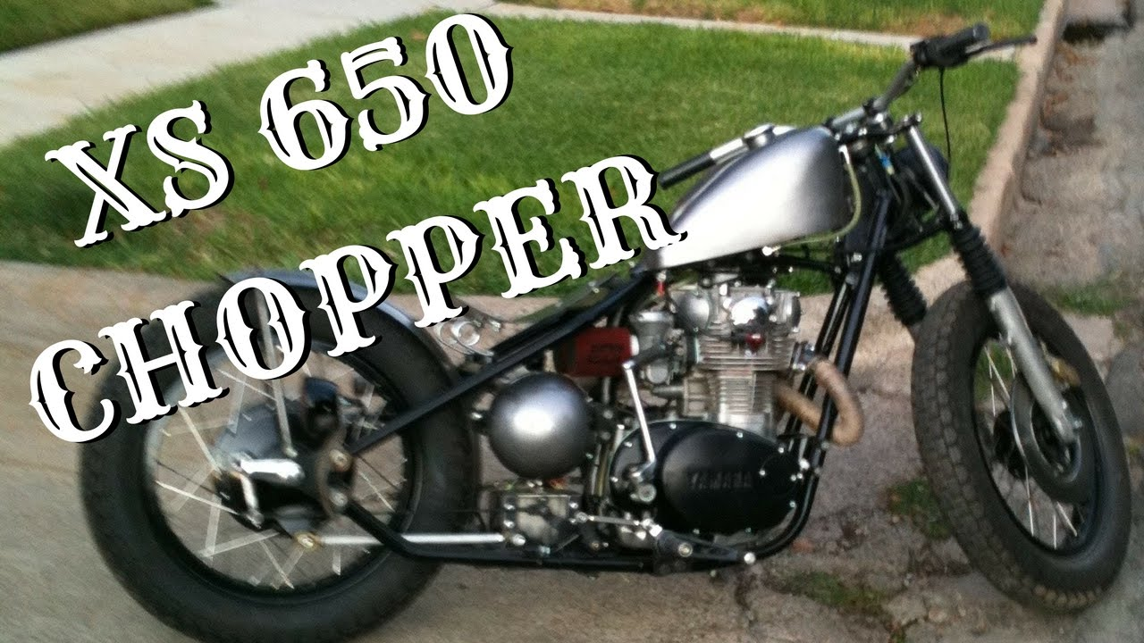 hardtail xs650 bobber yamaha chopper youtube. Black Bedroom Furniture Sets. Home Design Ideas