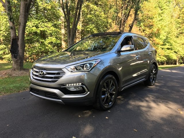 2017 Hyundai Santa Fe Sport 2.0T – Redline: Review - YouTube