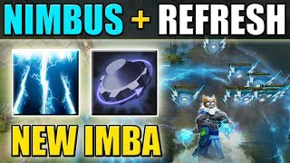 No Cooldown Nimbus! New Imbalanced 7.07 Ability Draft Build [Nimbus + Rearm] Dota 2