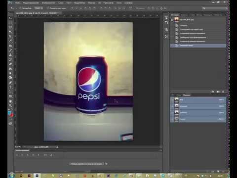 Как в фотошопе cs5 сделать 3d текст