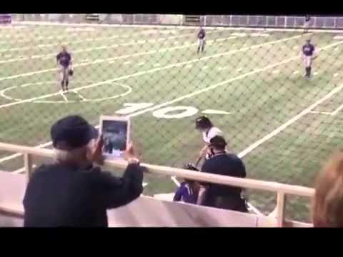 Прямое попадание мячом по iPad