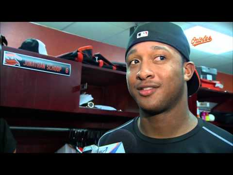 Jonathan Schoop gives his view of Miguel Gonzalez's performance against the Reds