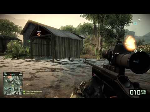 BFBC2: Aggressive Recon SV98 (Battlefield Bad Company 2 Gameplay)