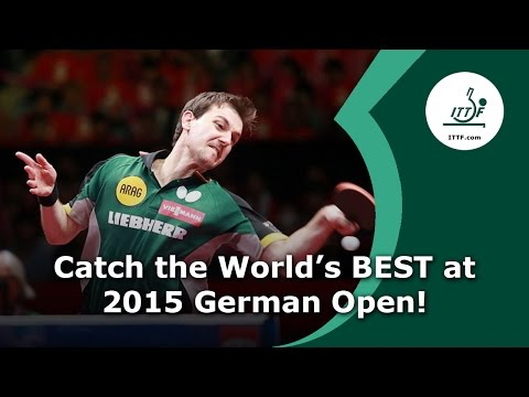 The World's Best are Coming to the 2015 German Open