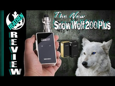 The NEW Snow Wolf 235 PLUS from Laisimo/Sigelei - Giveaway I Heathen