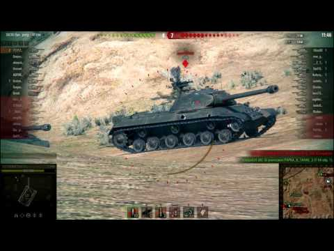 World of Tanks ЛБЗ-3 (т55А) ПТ 15 Т110Е4 7100 урона  _HraM WoT_