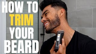 How to Trim Your Beard to Make It Look Full