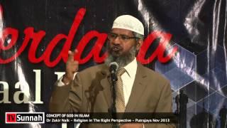 Concept of God in Islam - Dr Zakir Naik