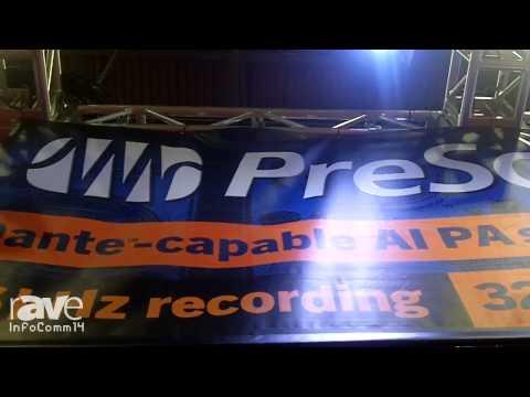 InfoComm 2014: PreSonus Debuts the Dante Option Cards for AIPA Speakers